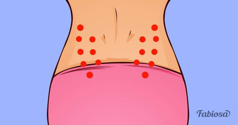 5 Massage-Punkte zur Bewältigung von Regelschmerzen, Stress und anderen Problemen
