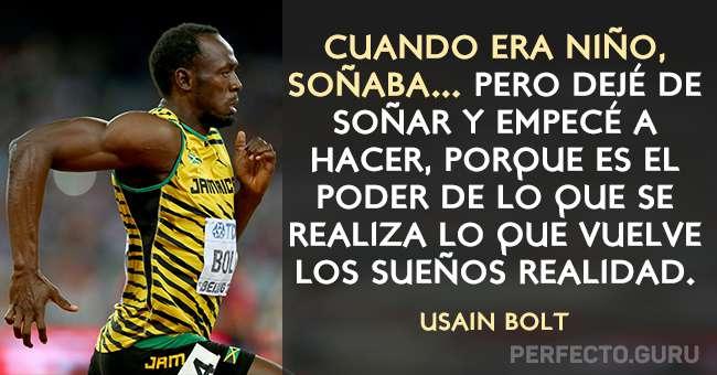 Las 15 Frases Más Motivadas De Usain Bolt