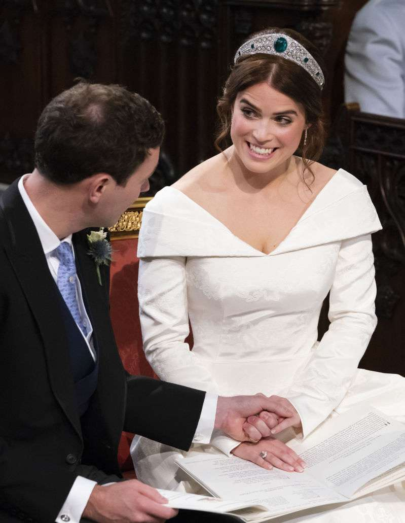 How Did Eugenie And Jack Really Feel On Their Wedding Day? Body Language Expert Gushes About The Couple