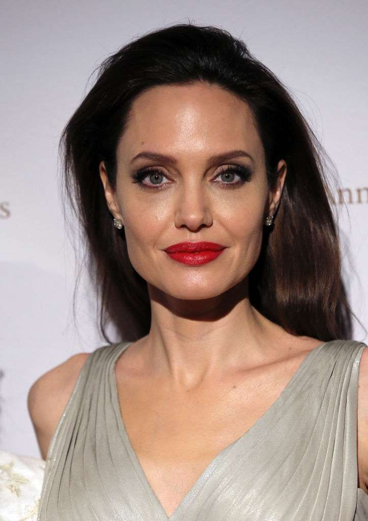 Like An Angel! Angelina Jolie Stuns In A Black-And-White Combo At London Film Festival