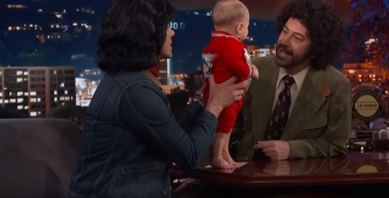 John Stamos' 6-Month-Old Son Billy Stole The Show As He Appeared With His Doting Dad On 'Jimmy Kimmel Live'John Stamos' 6-Month-Old Son Billy Stole The Show As He Appeared With His Doting Dad On 'Jimmy Kimmel Live'