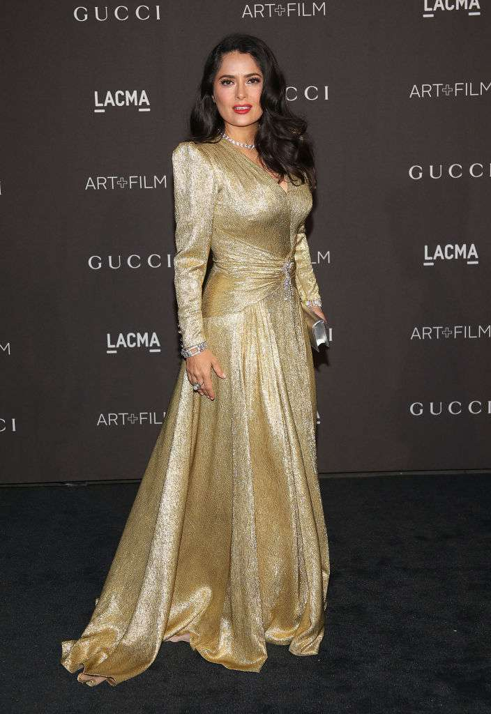 Salma Hayek Stuns All By Revelling In Her Grey Hairs On Instagram