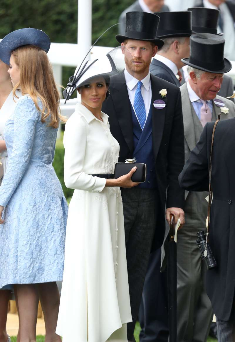 Has She Gone Frugal? Meghan Markle Appeared In Public In An Incredibly Cheap Dress By H&M