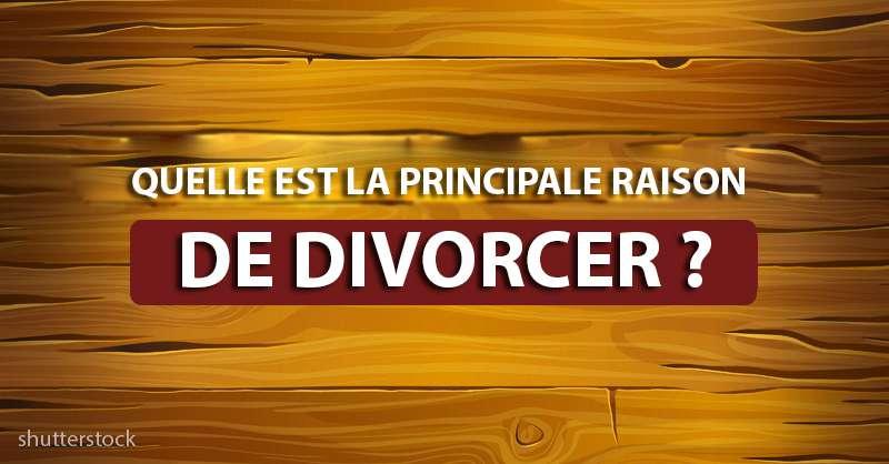 Pouvez-vous répondre à cette question délicate ? Quelle est la cause principale du divorce ? En voilà une énigme !Pouvez-vous répondre à cette question délicate ? Quelle est la cause principale du divorce ? En voilà une énigme !