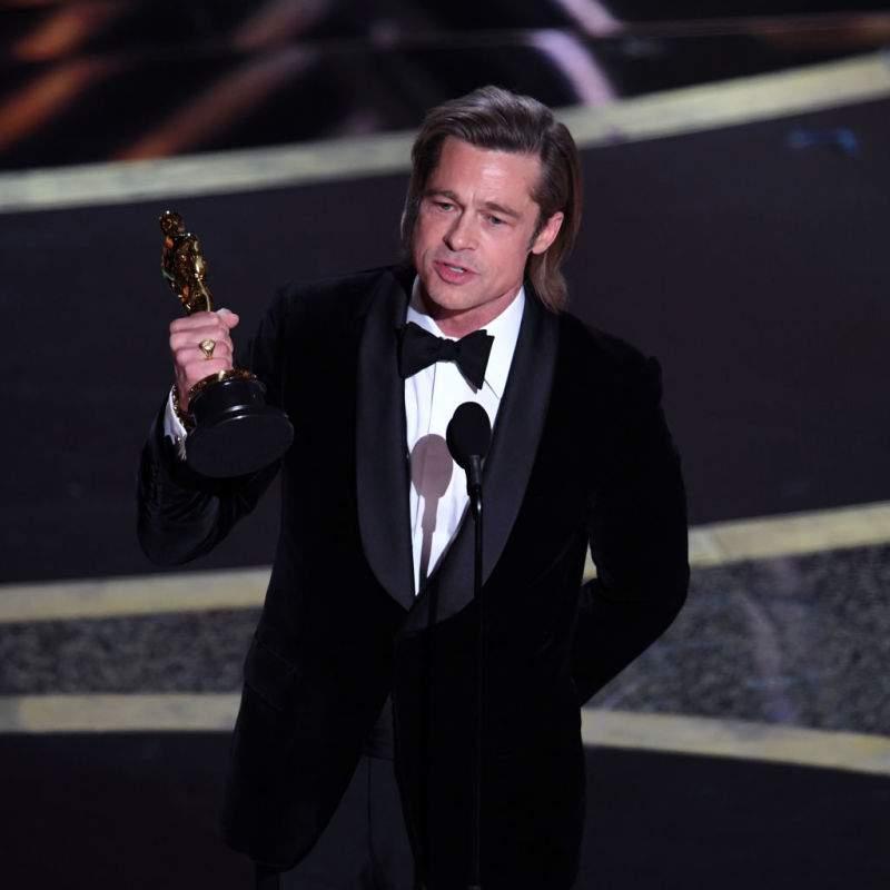 Le public a adoré le discours émouvant de Brad Pitt aux Oscars 2020 où il dédiait sa victoire à ses 6 enfants
