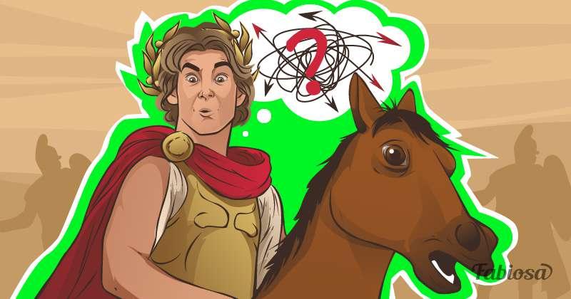 Загадка про Александра Македонского. А вы сможете разгадать замысел царя?makedonskiy, man, horse, question, riddle