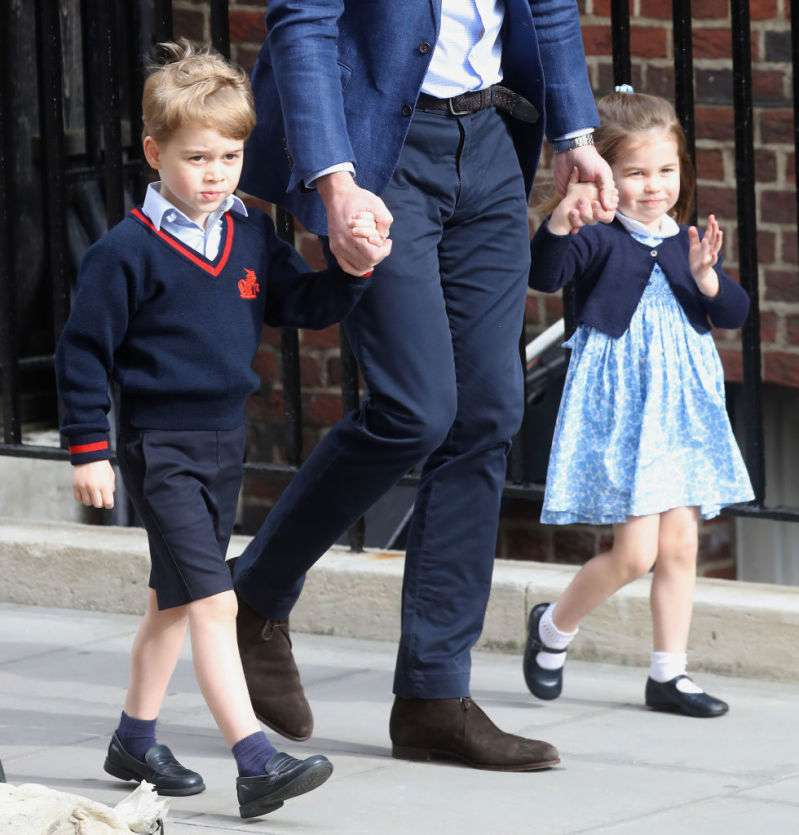 Naughty Kids: Princess Charlotte And Prince George Enjoyed Knocking The Ornaments Off During The Festive Season