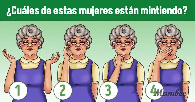 Descifrar mensajes a través del lenguaje corporal: ¿cuál de estas mujeres miente?