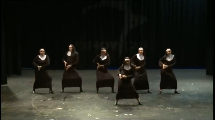 """Those Are Some Skills! """"Nuns"""" Demonstrate Great Dance Moves On The Video"""