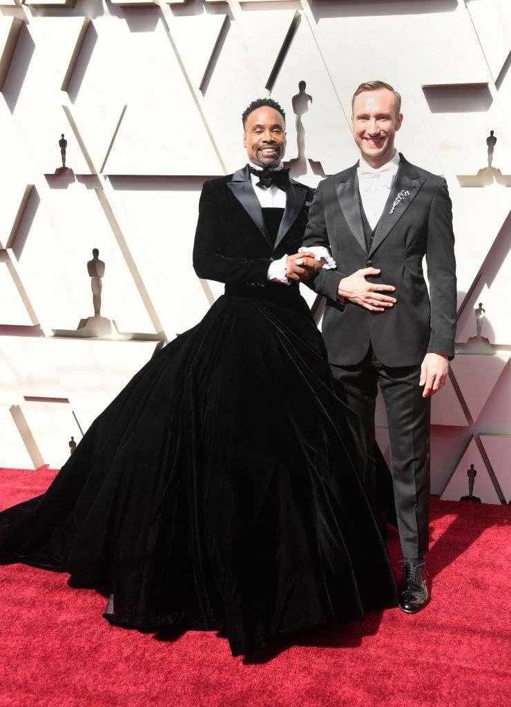 Сукня, дійсно! Екстравагантний Оскаровий костюм Біллі Портера, божественний смокінг