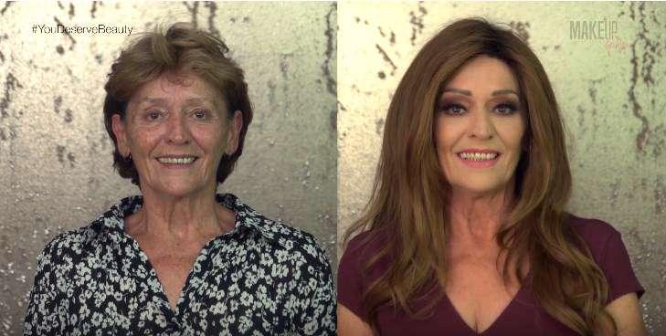 Diese 70-jährige Großmutter ließ sich umstylen und sieht nun 15 Jahre jünger aus
