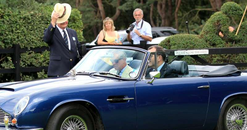 Big Whim Or Big Heart: Prince Charles' Car Uses White Wine Fuel To Drive