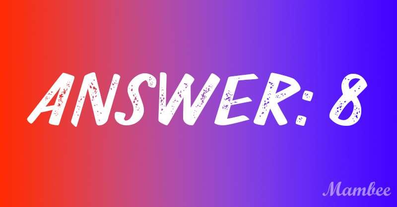 8 ou 2 ? Pouvez-vous trouver la réponse à cette énigme mathématique assez complexe ?