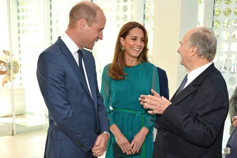 Cuenta regresiva: Kate y William tuvieron una reunión con un líder islámico antes de iniciar su gira
