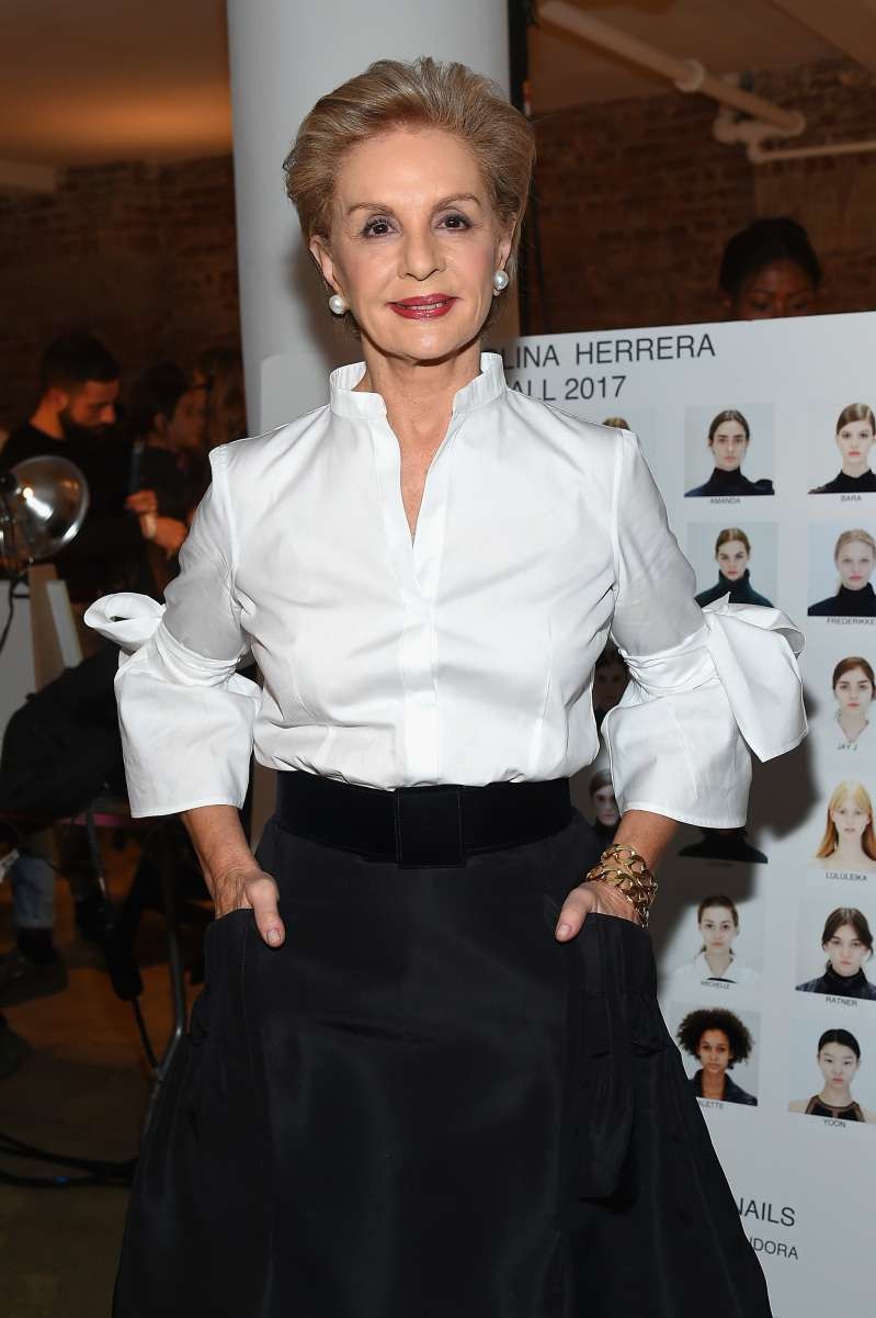 Carolina Herrera Advises: What Clothes A Woman Should Avoid Wearing After 40