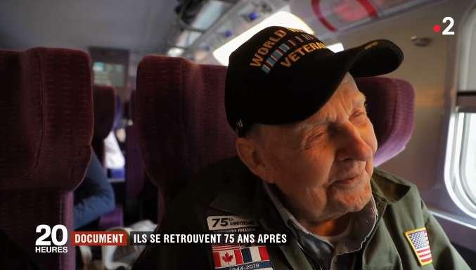 """""""Tu n'as jamais quitté mon cœur."""" Après 75 ans de séparation, un soldat américain revient vers son amour français"""