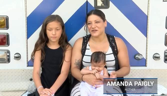 Una valiente heroína: niña de 11 años revivió a su hermanita luego de que dejara de respirar