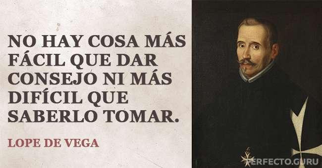 Las 20 Mejores Frases De Lope De Vega