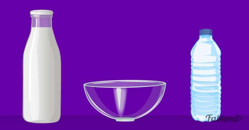 Un acertijo de pura lógica: ¿cómo logras verter leche y agua en un mismo recipiente sin que se mezclen?Un acertijo de pura lógica: ¿cómo logras verter leche y agua en un mismo recipiente sin que se mezclen?riddle, water, milk