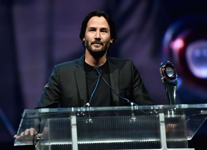 keanu reeves has a private charity organization