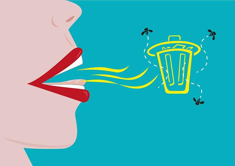 5 catégories d'aliments qui provoquent la mauvaise haleine