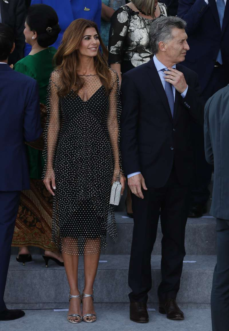 Wow, What A Beauty! Please, Welcome The First Lady Of Argentinajuliana awada first lady