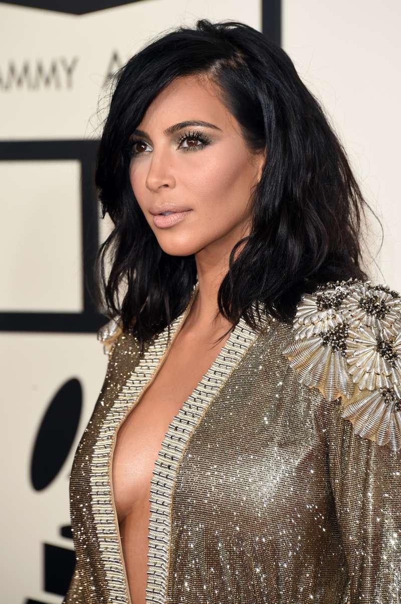 Labios carnosos y pestañas largas: Kim Kardashian mostró cómo se veía hace más de 30 años