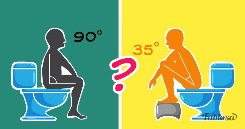 Etonnant ! D'après les scientifiques vous n'adoptez probablement pas la bonne position lorsque vous aller à la sellehow to pooping