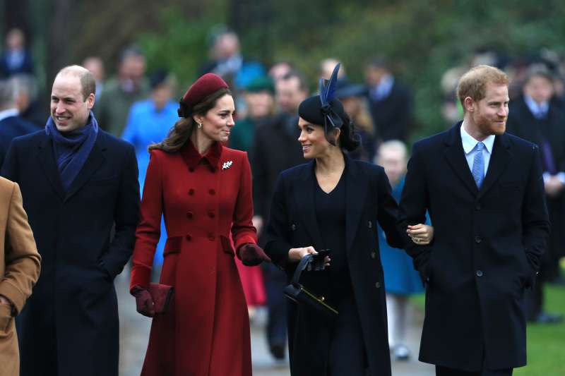 Nope, It's Not The Color! One Huge Difference Between Kate And Meghan's Christmas Outfits