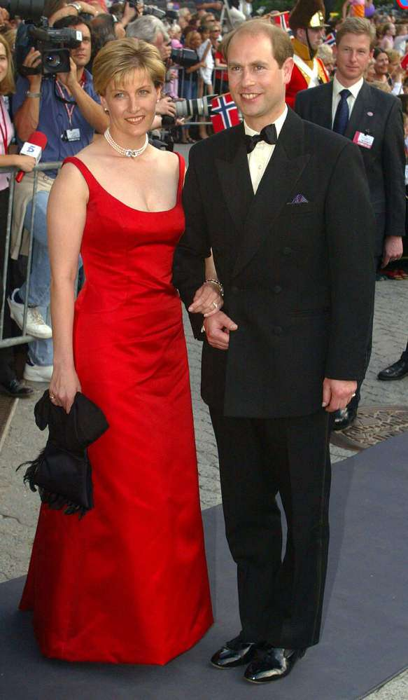 Sophie, The Countess Of Wessex Dazzled In A Stunning Red Dress And It Seems To Be The Most Revealing One