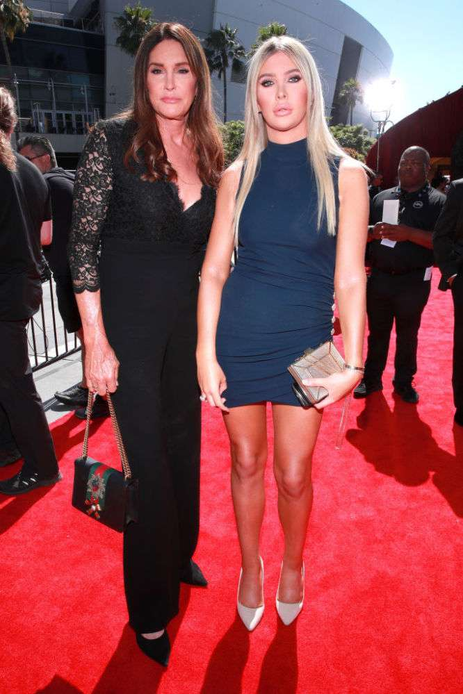 Caitlyn Jenner Flaunts Her Best Parts In A Gorgeous Black Gown With Deep Decollete And Sheer Sleeves At ESPYs 2019Caitlyn Jenner Flaunts Her Best Parts In A Gorgeous Black Gown With Deep Decollete And Sheer Sleeves At ESPYs 2019