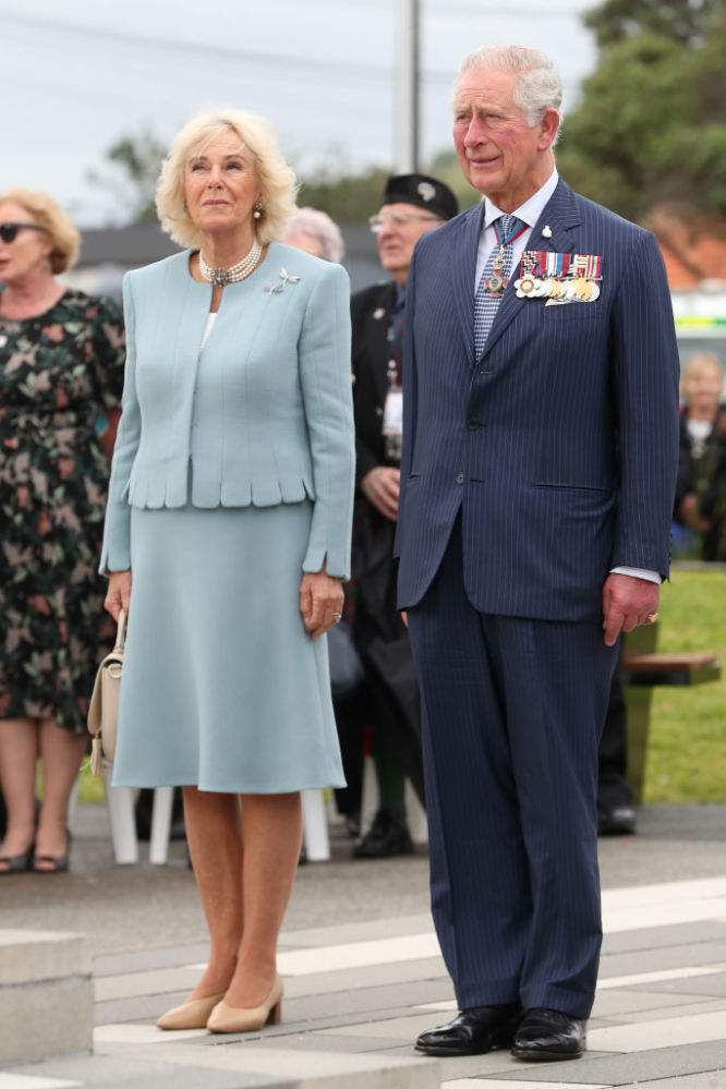 Camilla Duchess Of Cornwall's Style Reached A Completely New Level As She Appeared In Tender Blue Suit In New Zealand