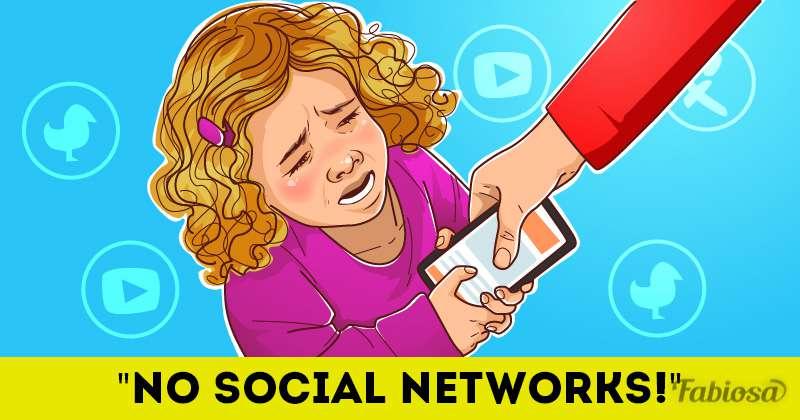 Wie bereits eine Stunde in den sozialen Netzwerken Ihr Kind beeinflusst