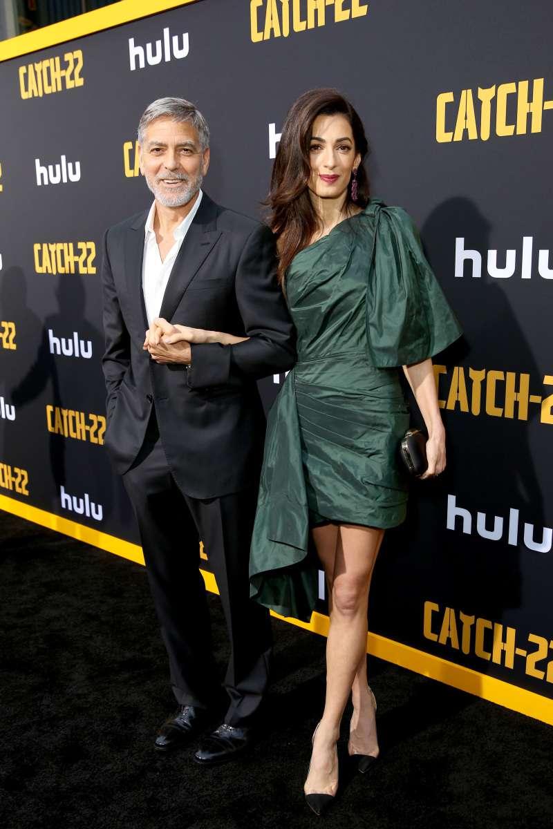 Amal Clooney conquista al mundo con ostentoso vestido corto de 5 mil dólares que no podemos superar