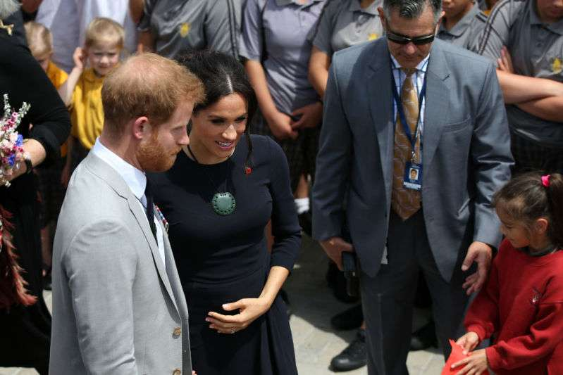 Is That Panties? The Lighting Helped The Photographers Take A Naughty Shot Of Meghan Markle