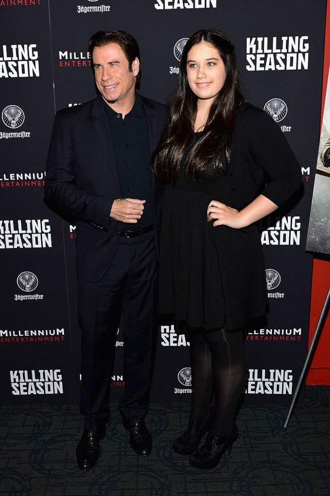 De patito feo a hermoso cisne: la tremenda evolución de la hija de John Travolta a lo largo de los años