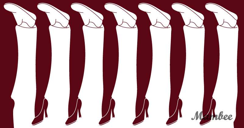 A Tricky Illusion: How Many Legs Can You See In The Picture?riddle how many legs do you see in the picture, how many legs do you see in the picture