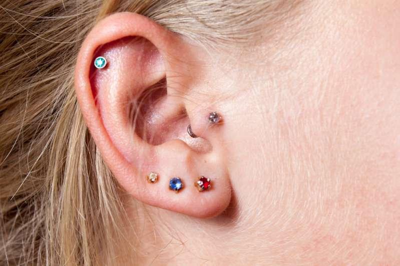 Infeccion de oreja por piercing