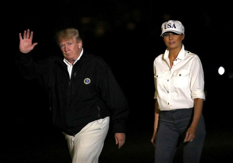 Who's This Tomboy? Melania Trump's Style Has Taken A Strange Turn