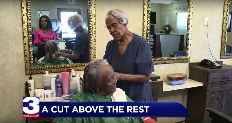 After More Than Seven Decades Of  Styling Hair, This 99-Year-Old Beautician Is Set To Retire