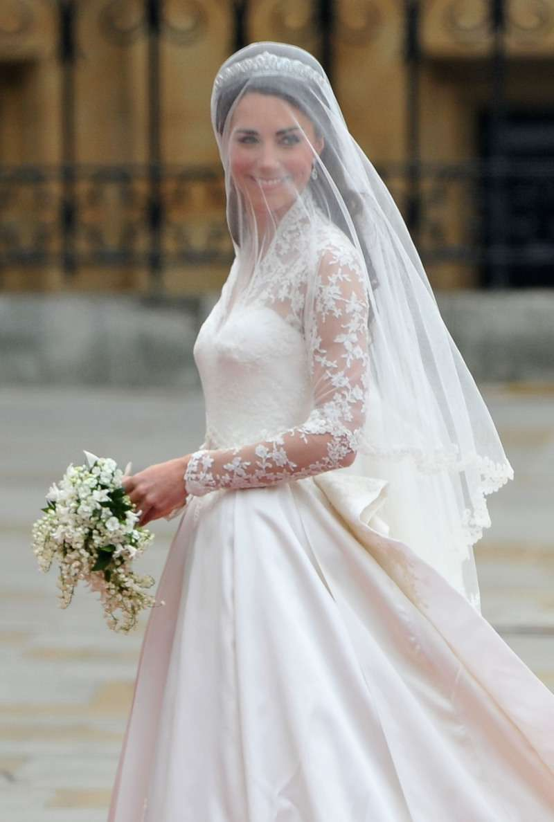 Dress With A Secret: Kate Middleton's Wedding Outfit Contained A Hidden Symbolic Tribute