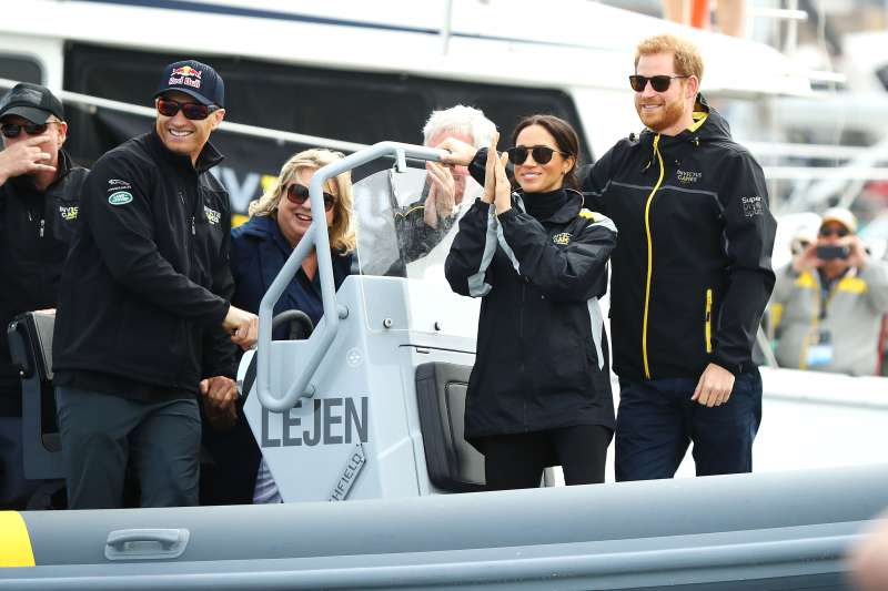 Meghan Markle Takes A Break From Her Normal Footwear Fashion Routine To Rock A Pair Of Sneakers At The Invictus GamesMeghan Markle Takes A Break From Her Normal Footwear Fashion Routine To Rock A Pair Of Sneakers At The Invictus Games