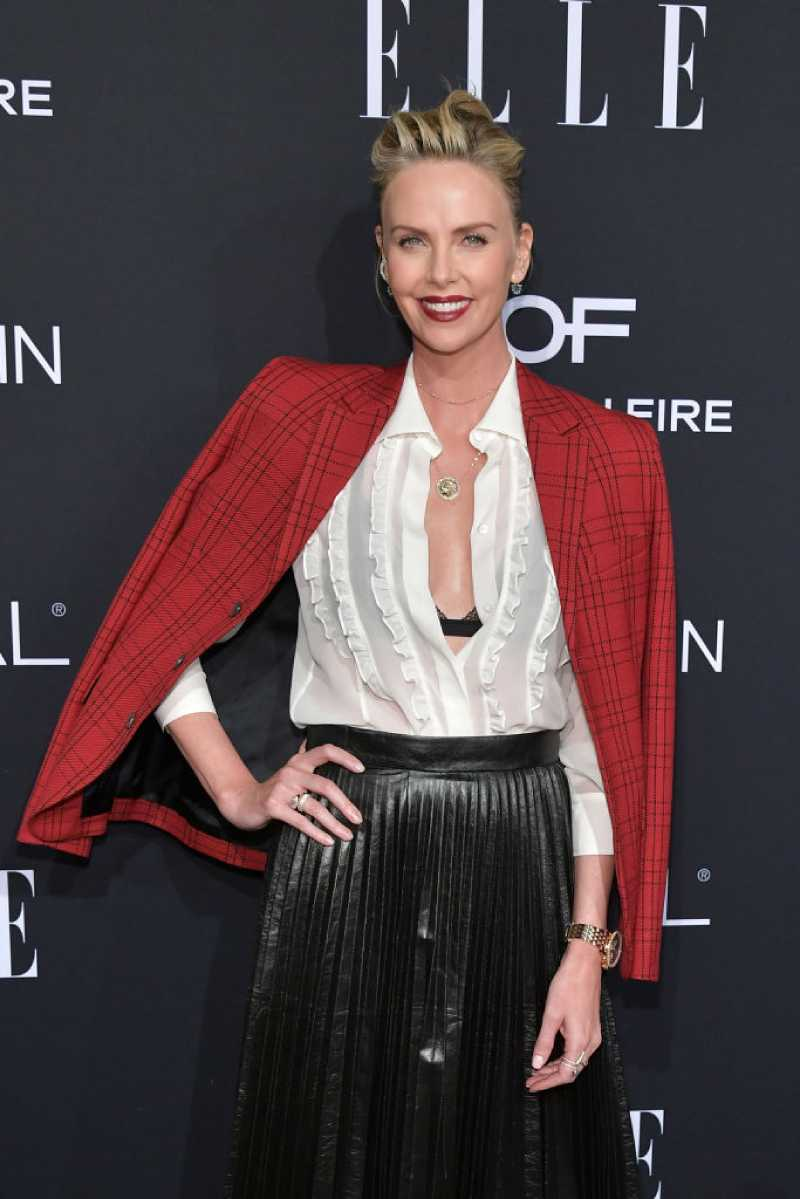 Not For Every Mother! Charlize Theron Let Her Son Wear A Dress To Disneyland