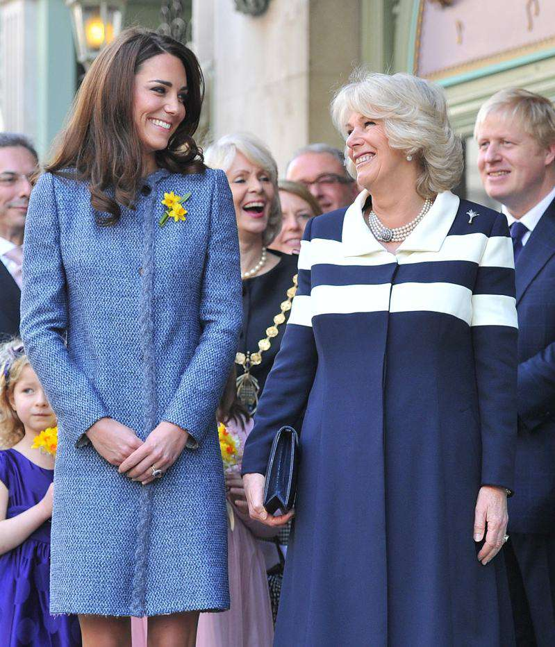 """""""They Get On Fine"""": Camilla Parker-Bowles' Son Denies Rumors Of Bad Blood Between His Mom And Kate Middleton"""