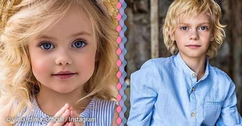 Kids russian models [Setup] little