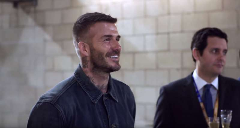 Ronaldo Got Off Easy! David Beckham Was Pranked With A Grotesque Statue