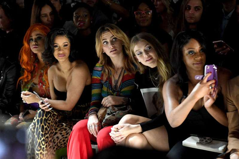 Hennessy Carolina, Cardi B, Paris Jackson, Gigi Hadid and Tiffany Haddish