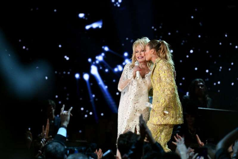 Happy Family Time! Miley Cyrus And Her Godmother, Dolly Parton, Performed Happily At The 61st Annual Grammy Award CeremonyHappy Family Time! Miley Cyrus And Her Godmother, Dolly Parton, Performed Happily At The 61st Annual Grammy Award CeremonyHappy Family Time! Miley Cyrus And Her Godmother, Dolly Parton, Performed Happily At The 61st Annual Grammy Award CeremonyHappy Family Time! Miley Cyrus And Her Godmother, Dolly Parton, Performed Happily At The 61st Annual Grammy Award Ceremonydolly parton