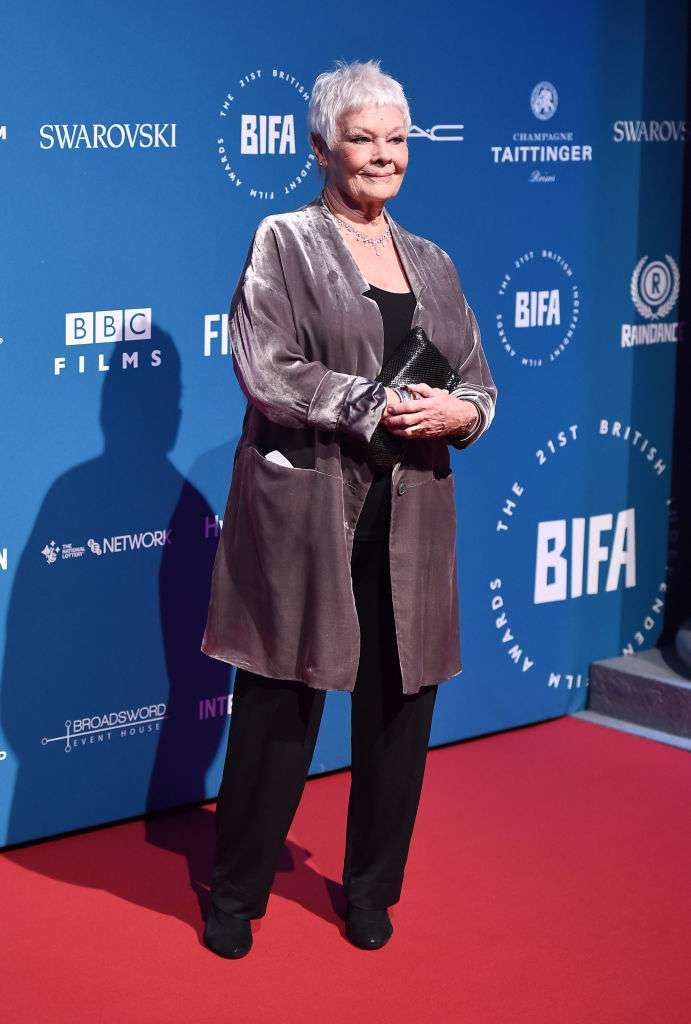 "Impending Blindness: Judi Dench's Eye-Sight Is Deteriorating Rapidly & There's ""Nothing"" She Can Do About It"