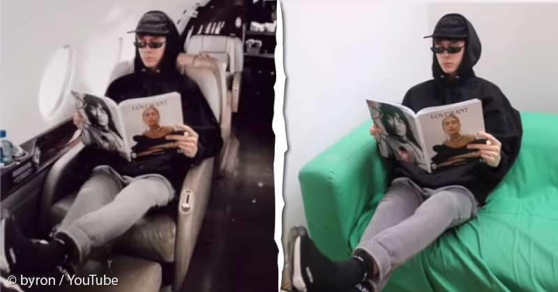 Posting Being By Faked Rich Vlogger Photoshopped 19-year-old